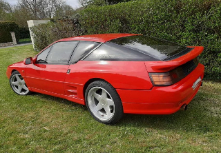 Alpine A 610 Turbo 1992 Rouge