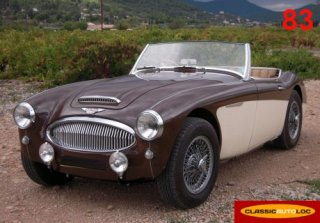 Austin healey 3000 1962 Marron/Ivoire