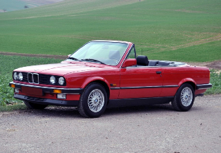 Bmw 325 1988 rouge
