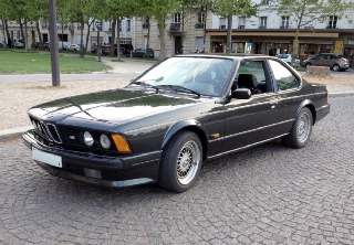 Bmw M 635 CSI 1988 Noir diamant