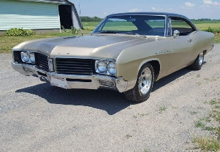Buick le Sabre 400 ci 1967 Or