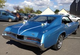 Buick RIVIERA GS 1966 BLEUE