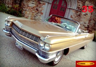 CADILLAC DEVILLE 1964 or