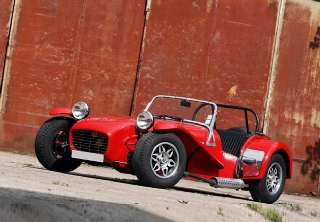 Caterham Super Seven 1700 1978 Rouge
