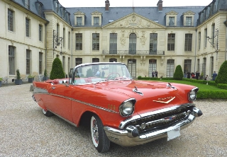 Chevrolet Bel Air 1957 Rouge
