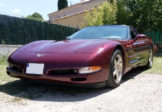 Chevrolet Corvette 2003 Bordeaux