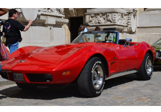 Chevrolet Corvette C3 1973 Rouge