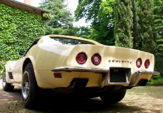 Chevrolet Corvette Stingray  1971 jaune