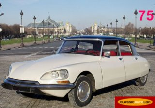 Citroen DS Super 1972 Ivoire