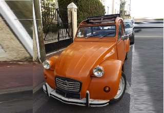 Citroën 2cv 1990 orange