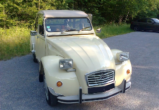 Citroën 2cv6 Club 1979 Beige