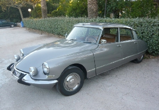 Citroën DS 19 Pallas 1967 Gris Palladium