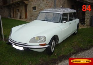 Citroen DS 21 break 1968 Blanc