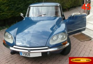 CITROEN DS 21 PALLAS 1968 Bleu