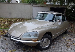 Citroën DS 21 Pallas 1970 sable