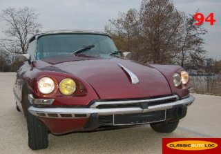 Citroen DS 23 1973 BORDEAUX