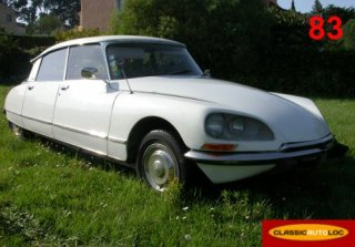 Citroen DS 23 Pallas 1972 Blanc