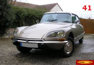 CITROEN DS 23IE 1974 BEIGE THOLONET