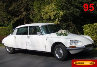 Citroën DS Special 1970 Blanche