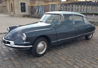 Citroën DS19 1962 GRIS ANTHRACITE