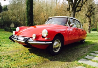 Citroën ds19 1963 rouge