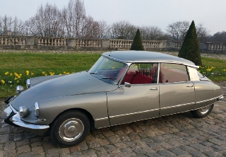 Citroën DS21 PALLAS 1967 GRIS PALLADIUM