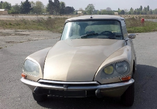 Citroën DS23ie 1972 brun