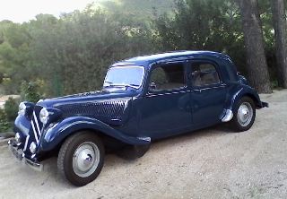 Citroën Traction 11 B Bleue