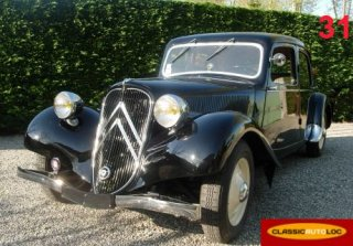 Citroën traction 11 BL 1948