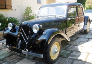 Citroën Traction 11B 1952 Noir