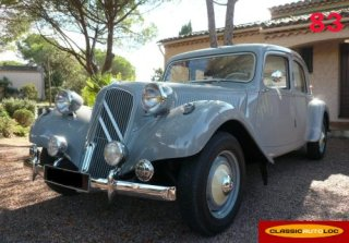 CITROEN TRACTION 11B 1954 Gris