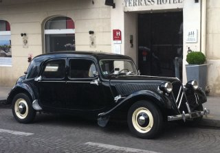 Citroën Traction 11B 1957 Noir