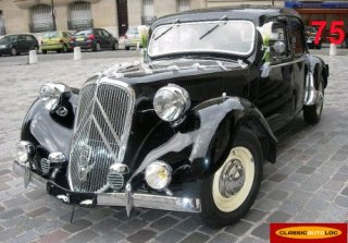 Citroën Traction 15/6 1949 Noir