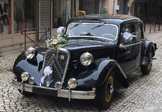 Citroën Traction 15/6 1951 Noir
