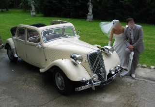 Citroen Traction 15 - 6 cyl 1949 Ivoire