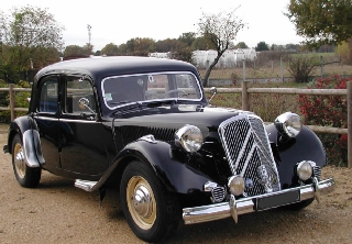Citroën traction 15 six 1951 noire