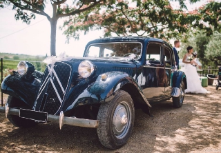 Citroën TRACTION 1947 BLEU MARINE