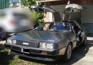 Delorean DMC12 1982 GRIS