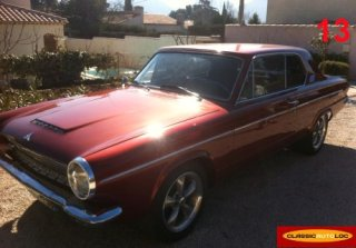 DODGE DART 1963 MARRON