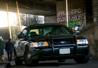 Ford Crown Victoria 2005 Noir