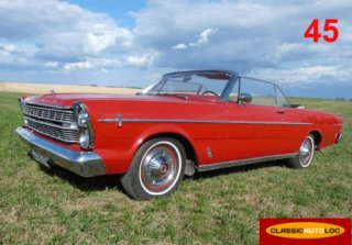 Ford Galaxie 1966 Rouge