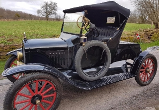 Ford Model T 1923 Noire