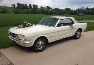 Ford Mustang 1965 Blanc