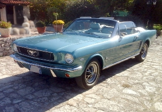 Ford Mustang 1966 Turquoise