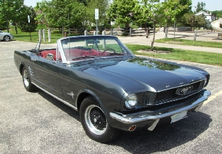 Ford Mustang 1966 vert