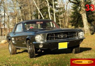FORD MUSTANG 1967 GRIS