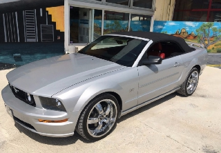 Ford Mustang  2006 Gris clair