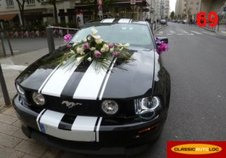 Ford MUSTANG 2007 NOIRE