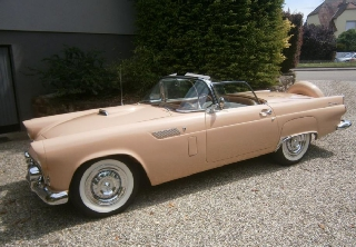 Ford Thunderbird 1956 Saumon