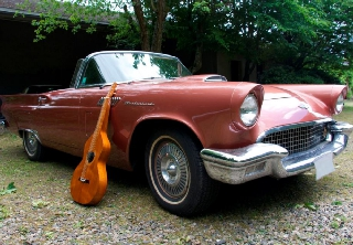 Ford Thunderbird 1957 bronze